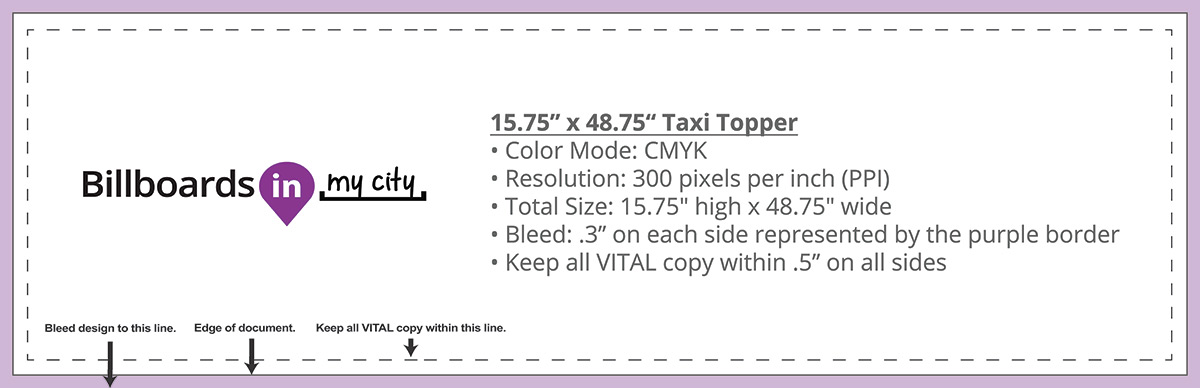 15.75″ x 48.75″ Taxi Topper